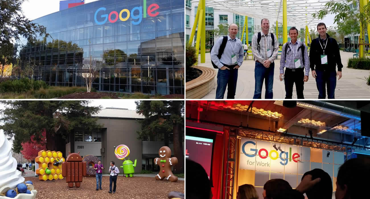 Behind The Scenes of GooglePlex: Spinutech Visits