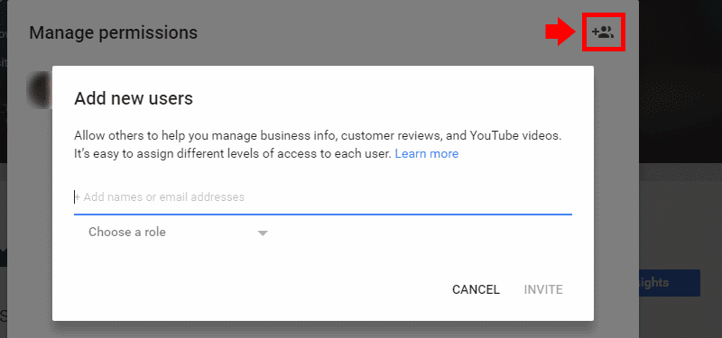 How to Add Managers in Google My Business