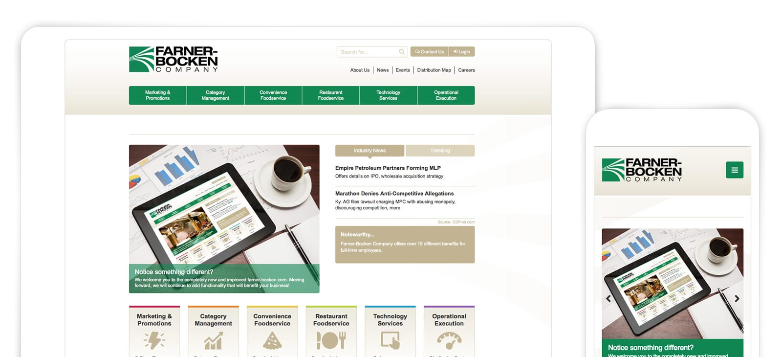 Farner Bocken Website Design